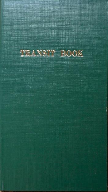 測量野帳 TRANSIT
