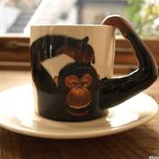 アニマル・カップ&ソーサー|チンパンジー